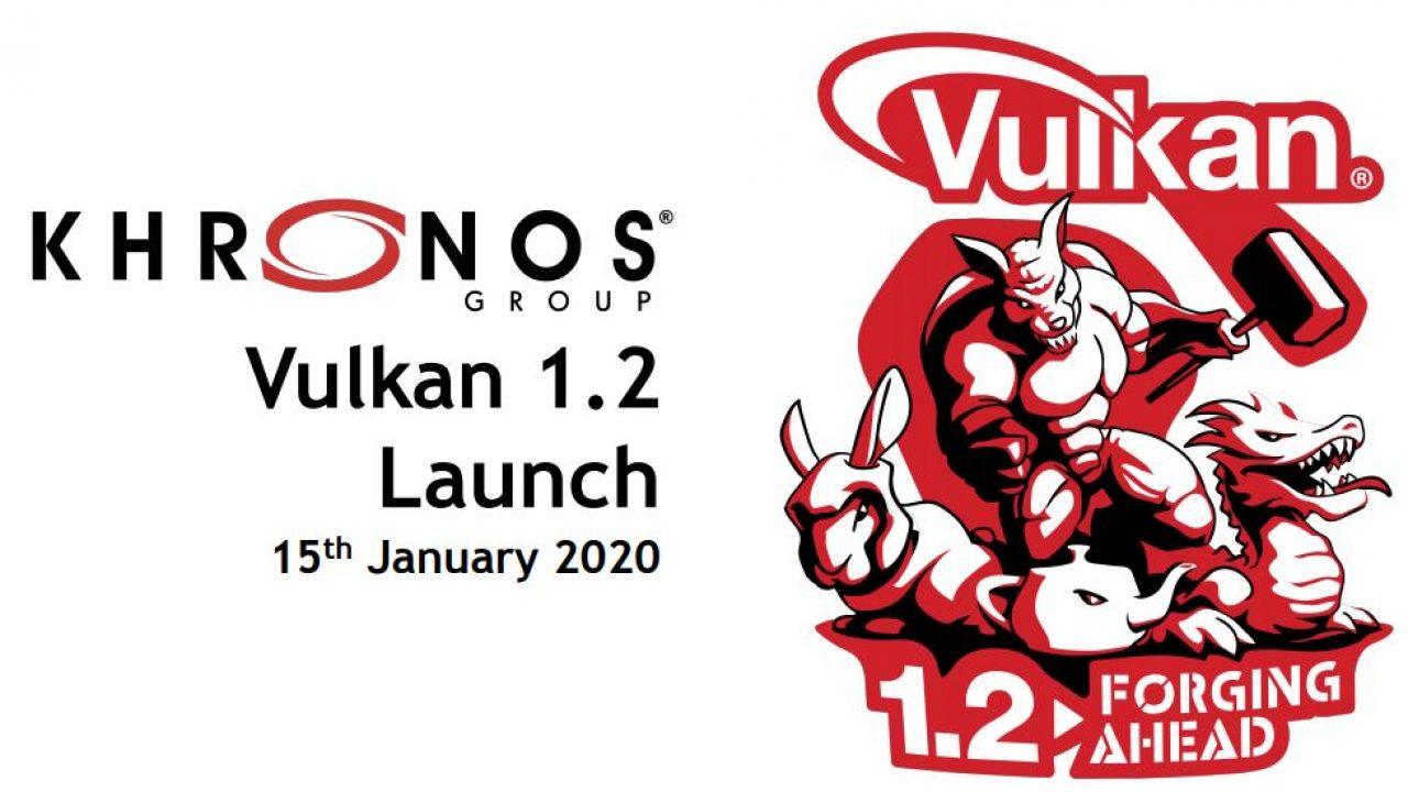 Khronos Group anuncia el lanzamiento de la API Vulkan 1.2