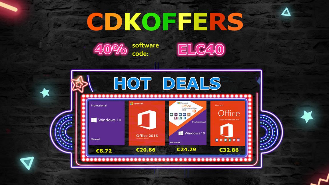 licencia de Windows 10 en CDKoffers 0