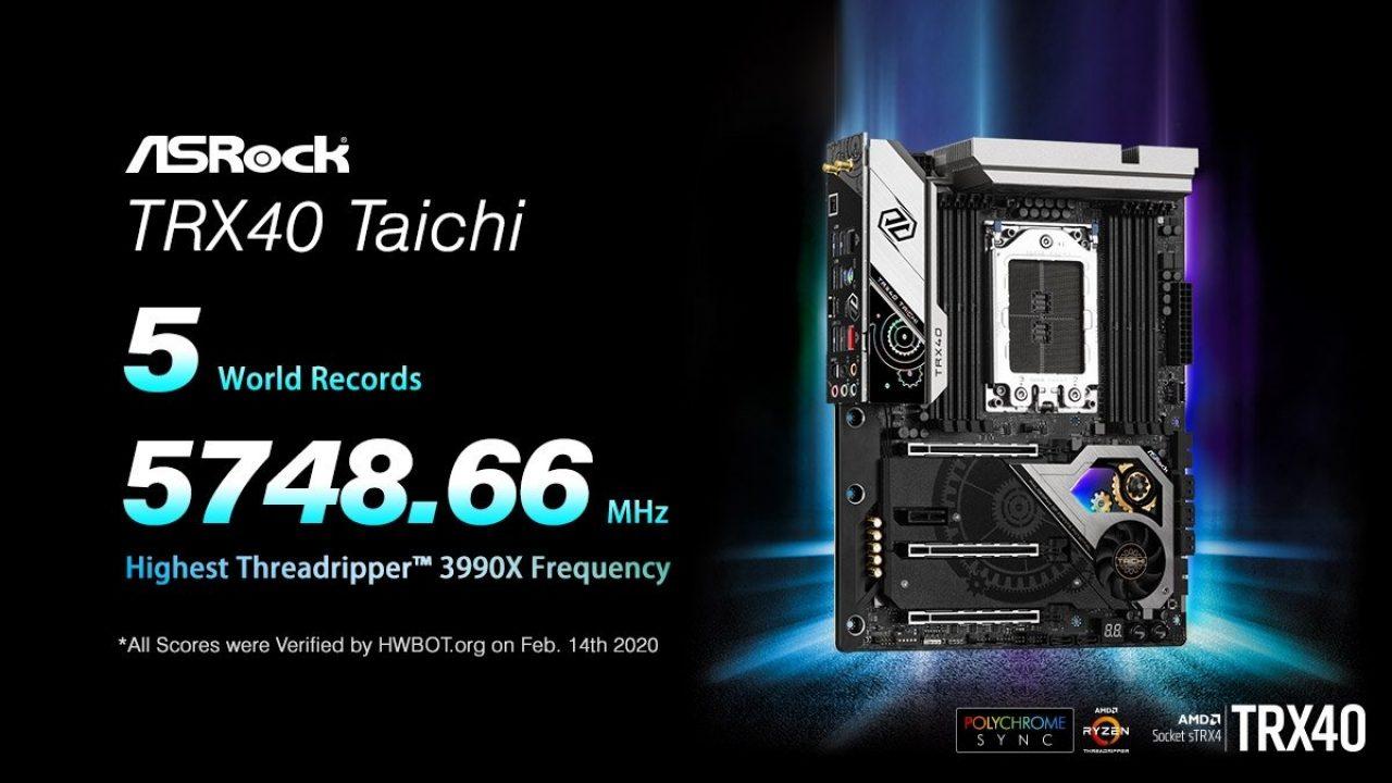 ASRock, ASRock TRX40 Taichi