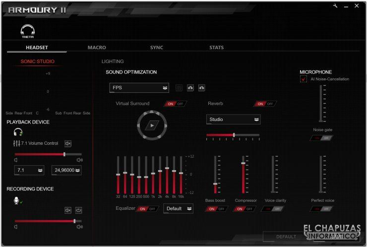 Asus ROG Theta 7.1 - Software 2
