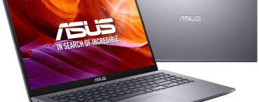Asus VivoBook D509DA-EJ098: Ryzen 7 3700U, 8GB RAM y SSD 512GB por 439 euros