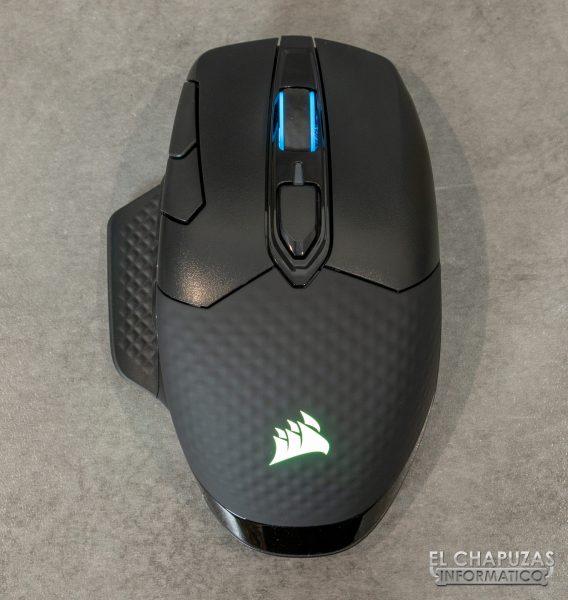 Corsair Dark Core RGB Pro - Vista superior