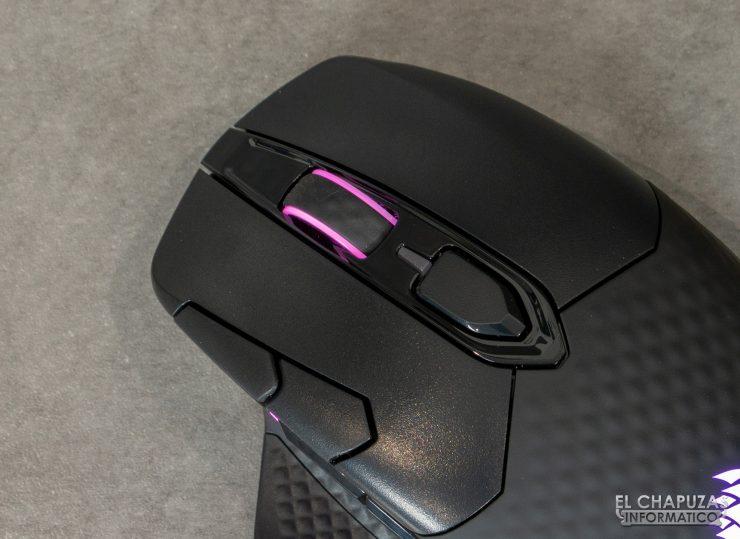 Corsair Dark Core RGB Pro - Botones principales