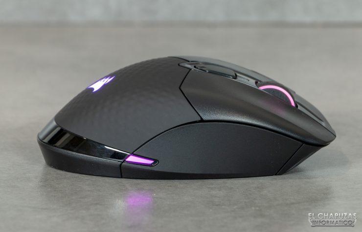 Corsair Dark Core RGB Pro - Lateral derecho
