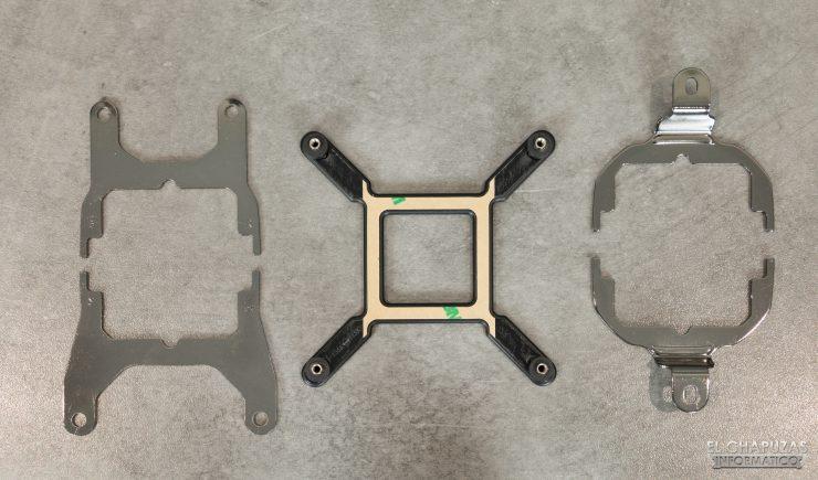 Corsair iCUE H100i RGB Pro XT - Back/Front Plates