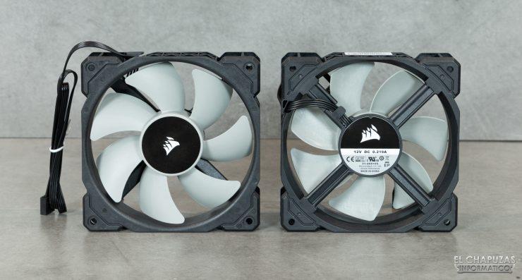 Corsair iCUE H100i RGB Pro XT - Ventiladores ML120 PWM