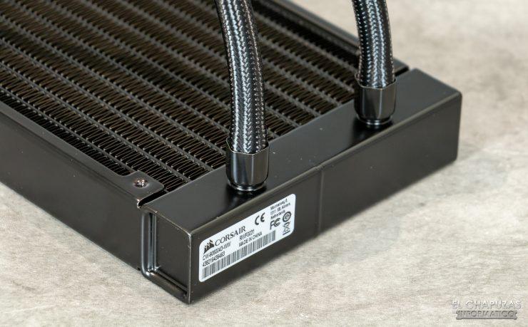Corsair iCUE H100i RGB Pro XT - Tubos
