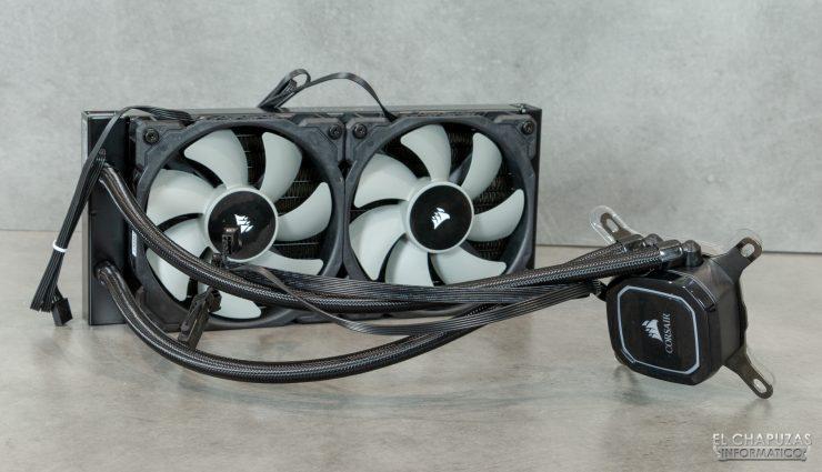 Corsair iCUE H100i RGB Pro XT - Con ventiladores 2