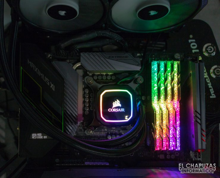 Corsair iCUE H100i RGB Pro XT - Equipo de pruebas 3