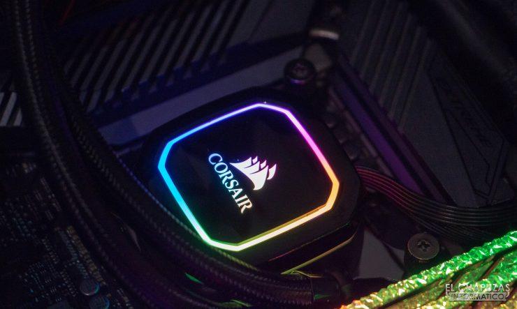 Corsair iCUE H100i RGB Pro XT - Equipo de pruebas 4