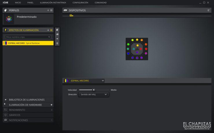 Corsair iCUE H100i RGB Pro XT - Software 1