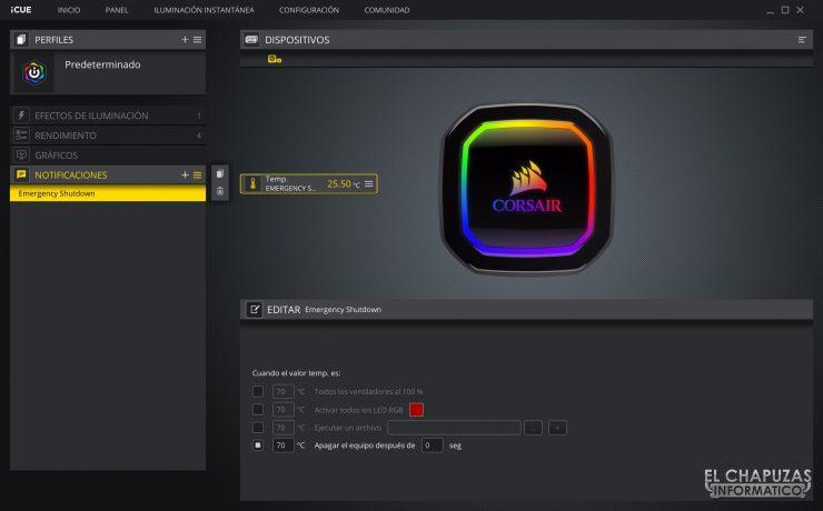 Corsair iCUE H100i RGB Pro XT - Software 5