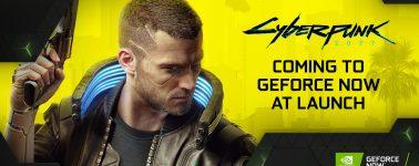 Cyberpunk 2077 llegará a la plataforma GeForce NOW el mismo día de su lanzamiento