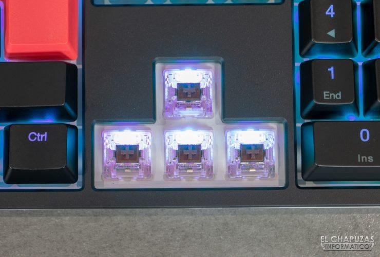 Ducky One 2 RGB - Interruptores Cherry MX Brown