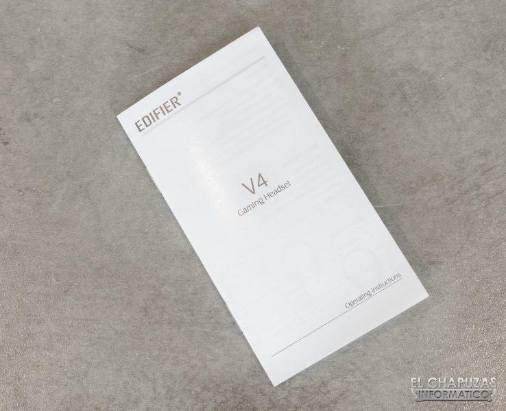 Edifier V4 - Manual