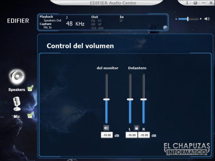 Edifier V4 - Software