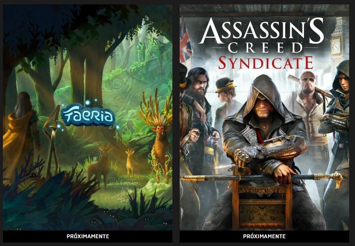Faeria y Assassins Creed Syndicate gratis en Epic Games 0