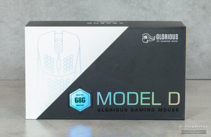 Glorious PC Gaming Race Model D - Embalaje frontal