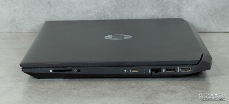 HP Pavilion Gaming 15-ec0003ns - Margen derecho
