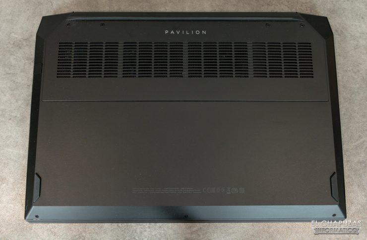 HP Pavilion Gaming 15-ec0003ns - Base