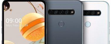LG K61, K51S y K41S: Tres smartphones con el mismo diseño pero distintas especificaciones