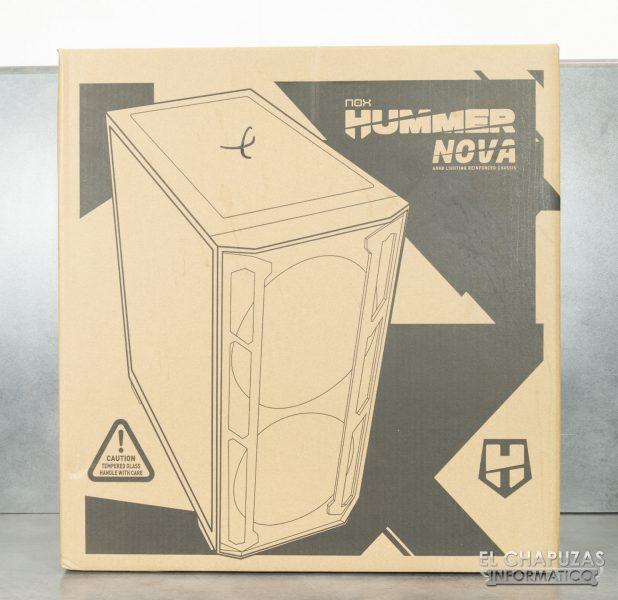 Nox Hummer Nova - Embalaje