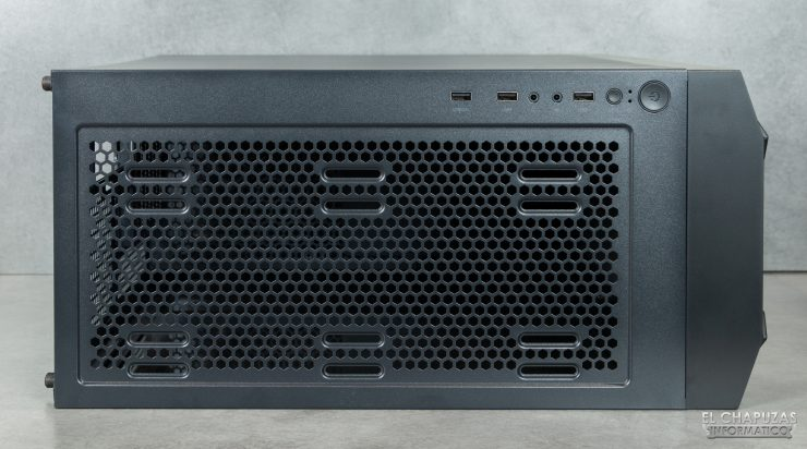Nox Hummer Nova - Lado superior sin filtro