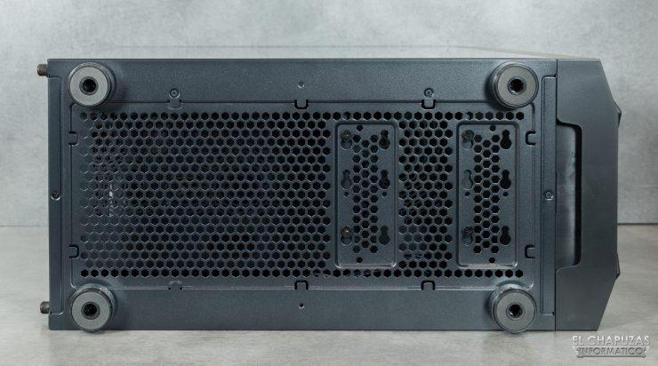 Nox Hummer Nova - Lado inferior sin filtro