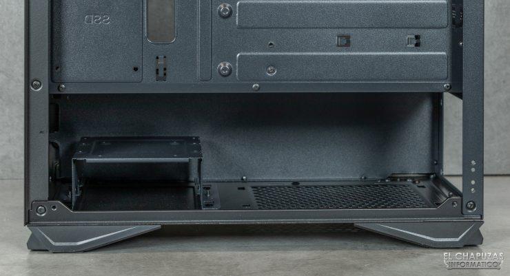 Nox Hummer Zero - Zona fuente alimentación