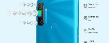 El Realme C3 recibe un hermano mejorado con triple cámara trasera y lector de huellas