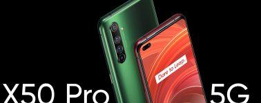 Realme X50 Pro 5G: Snapdragon 865, LPDDR5, 65W y seis cámaras desde 599 euros