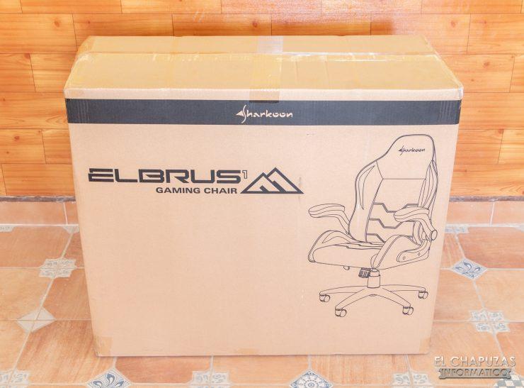 Sharkoon Elbrus 1 - Embalaje exterior