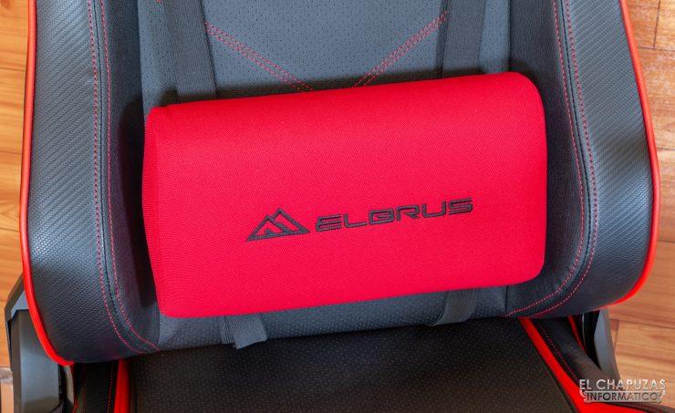 Sharkoon Elbrus 2 - Cojín lumbar