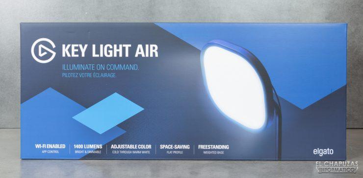 ElGato Key Light Air - Embalaje frontal