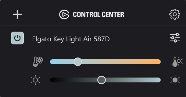 ElGato Key Light Air - App Windows