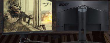 Acer XB273GXbmiiprz & XB253QGXbmiiprzx: Monitores IPS @ 240 Hz con Nvidia G-Sync