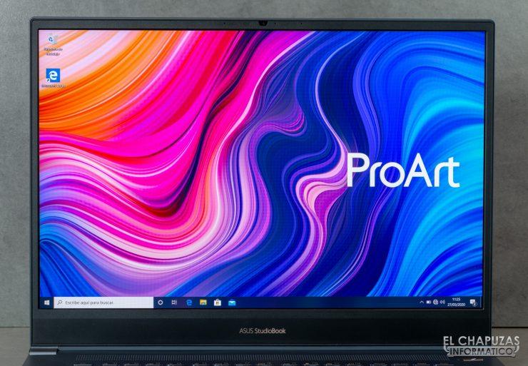 Asus ProArt StudioBook Pro 17 - Pantalla
