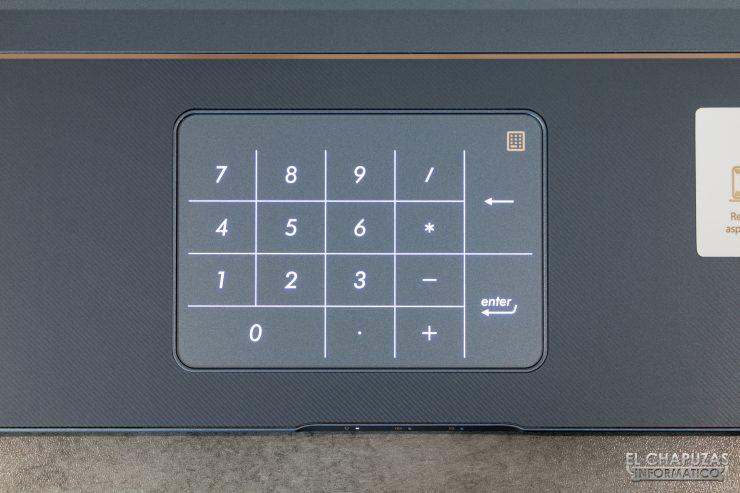 Asus ProArt StudioBook Pro 17 - Numberpad