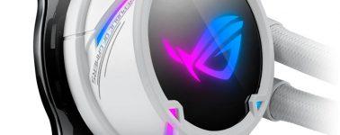 Asus viste de blanco sus líquidas tope de gama, las ROG Strix LC 360/LC 240 RGB White Edition