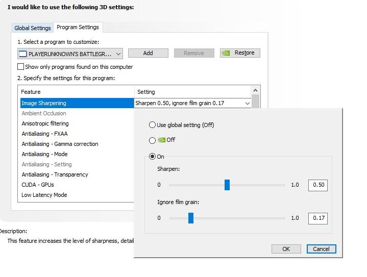 Configuración grafica PUBG 1