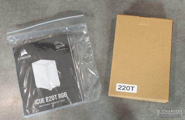 Corsair iCUE 220T RGB - Accesorios 1