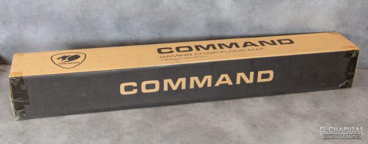 Cougar Command - Embalaje