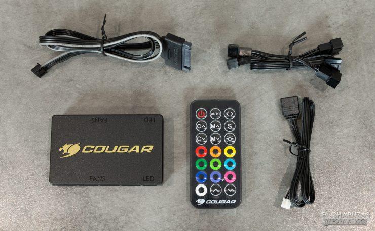 Cougar Panzer EVO RGB - Accesorios 3