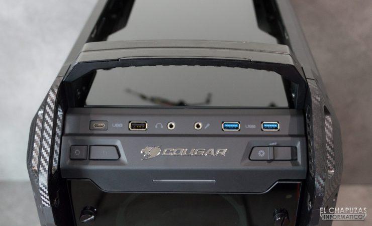 Cougar Panzer EVO RGB - Conectores