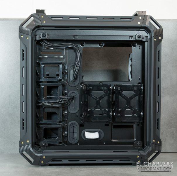 Cougar Panzer EVO RGB - Interior - Lado secundario
