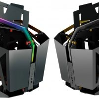 FSP T-WINGS: Estrambótico chasis con diseño abierto y espacio para dos sistemas