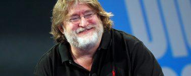 Gabe Newell, CEO de Valve: «Todo el mundo se beneficia de la competencia con Epic Games»