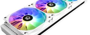 ID-Cooling Zoomflow 360X Snow: Líquida de 360mm compatible con TDPs de hasta 350W