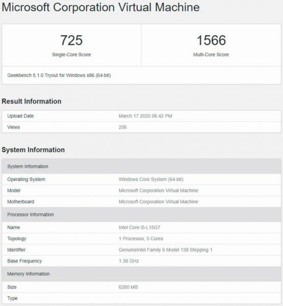 Intel Core i5 L15G7 Geekbench 5.1 555x600 0