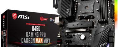 MSI anuncia que sus placas base AMD 400 Series con EEPROMs de 16MB serán compatibles con Zen3